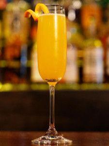 Hard Cider Mimosa