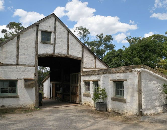 Mud Brick Barn