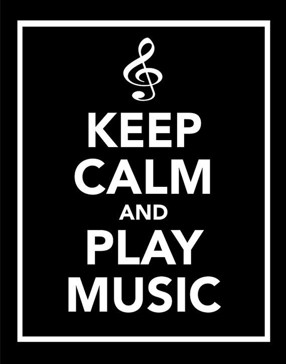 Words to live by...I love my soft, calming music. It's almost like prayer!