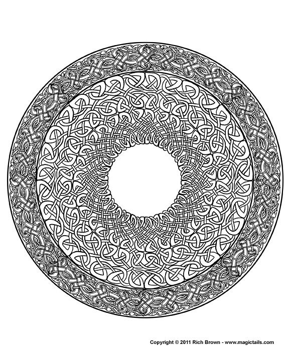 51 best Mandala Coloring Pages images on Pinterest Coloring