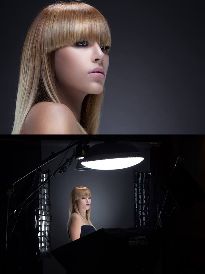 Beauty lighting by Clay Cook Photography