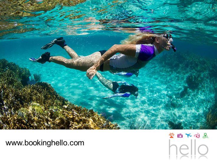 LGBT ALL INCLUSIVE AL CARIBE. La oferta de deportes acuáticos en Cancún es muy amplia, para quienes gozan de experiencias llenas de adrenalina y emoción. Paseos en lancha, curso de buceo, pesca deportiva, snorkeling, buceo en cenotes y hasta nado con delfines, son sólo algunas de las actividades que podrás disfrutar con tu pareja. En Booking Hello tenemos las mejores opciones al Caribe mexicano, para comenzar a planear tus vacaciones all inclusive. #LGBTalcaribe