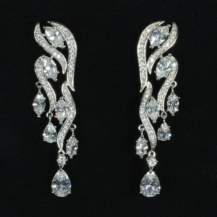 Donatella earrings from Ciao Bella Jewellery ciaobellajewellery.com