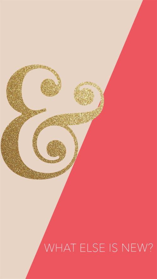 Freebie Friday: Ampersand, Dreams, & April. — Rekita Nicole