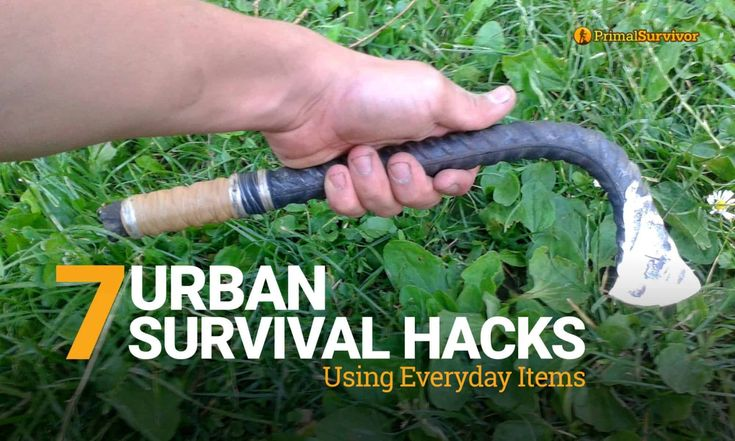 Surviving through emergencies and disasters is easy when you know these Urban Survival Hacks that can be done with everyday items from your home.
