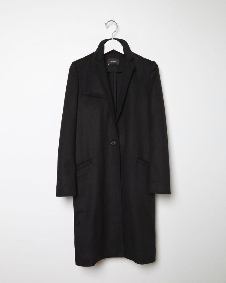 ISABEL MARANT | Carleen Caban Coat | Shop at La Garçonne