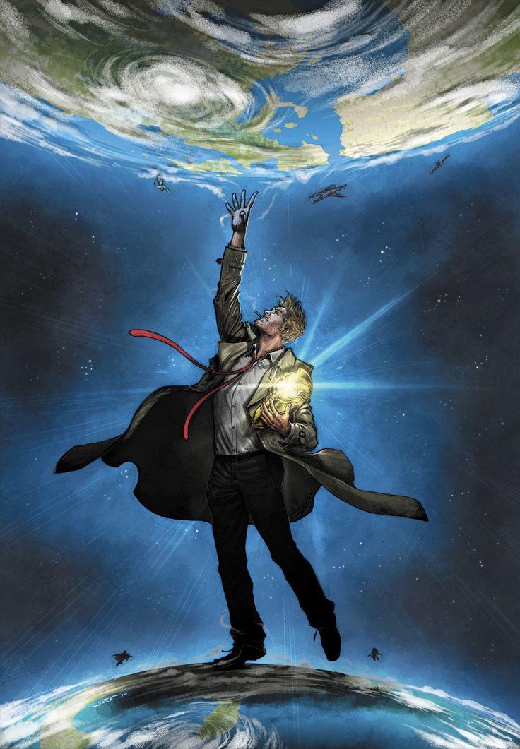 John Constantine by Juan Ferreyra