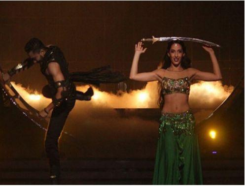 Nora Fatehi teaches belly dance to Govinda on Jhalak Dikhhla Jaa 9  Read More: http://tellygossips.me/nora-fatehi-teaches-belly-dance-govinda-jhalak-dikhhla-jaa-9/