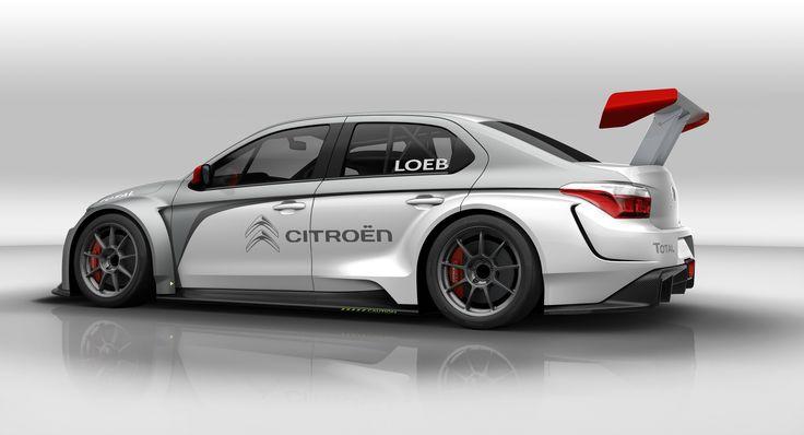 Citroen C-Elysee #WTCC Sebastien Loeb