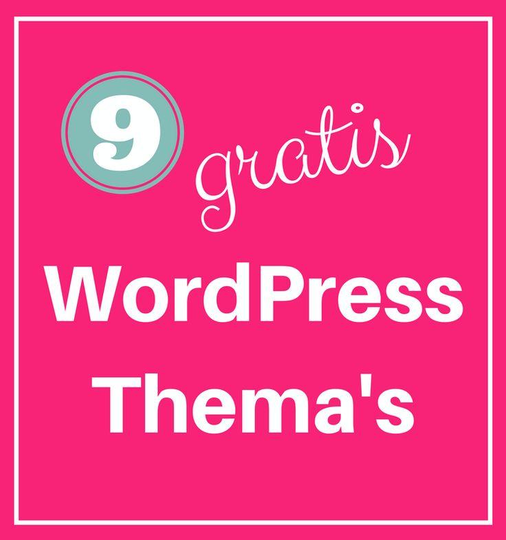 9 gratis vrouwelijke WordPress Thema's