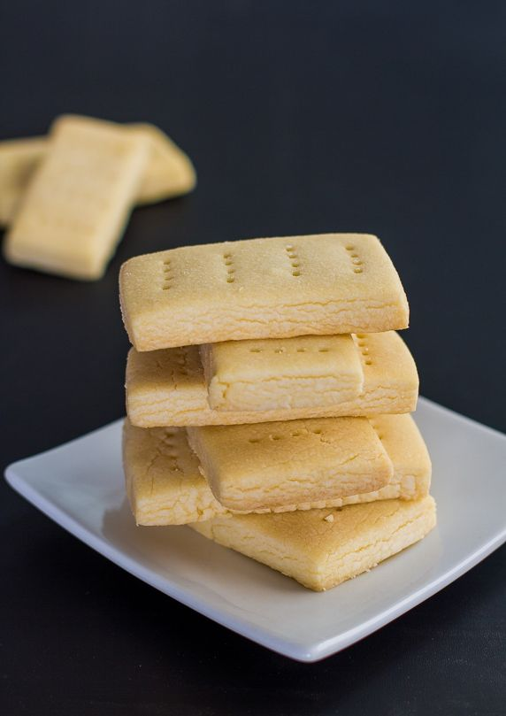 Classic Shortbread Cookies - it only takes 3 ingredients to make these ...
