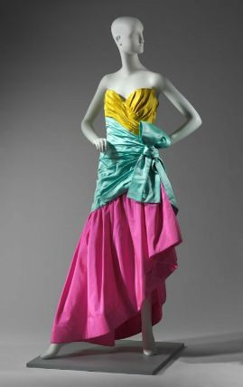 Designed by Arnold Scaasi, Woman's dress, American, Fall 1987, Museum of Fine Arts, Boston
