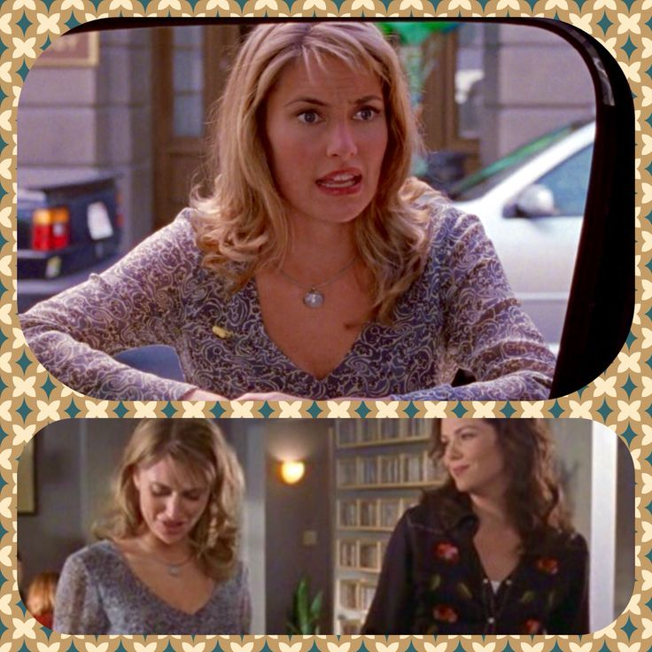 Mädchen Amick as { a very pregnant } Sherry Tinsdale in season 2 of Gilmore Girls