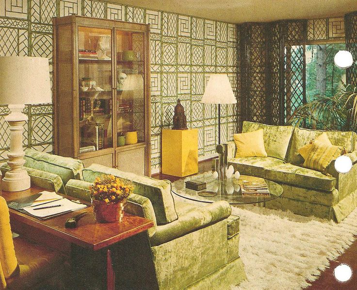 Bhg Living Room Design Ideas. Vintage Wallpapered Room from Better Homes and Gardens 457 best Living images on Pinterest  interiors
