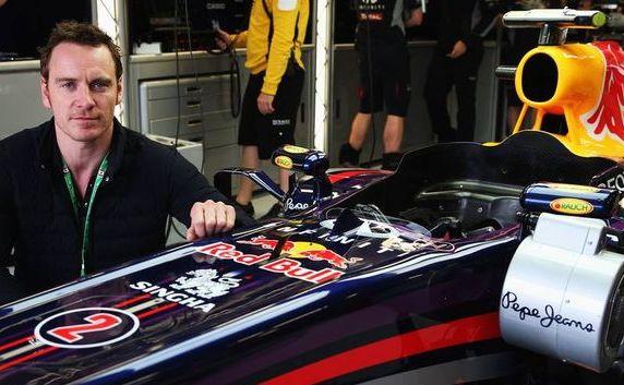 F1の大ファン。俳優マイケル・ファスベンダー