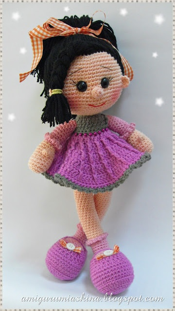 Amigurumi Askina Demet : 1000+ images about Knit and crochet dolls on Pinterest ...