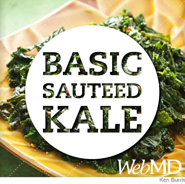 "The ""basic sauteed kale"" recipe is BY FAR our most popular pin on Pinterest. It must be good! http://wb.md/1t18iUM"