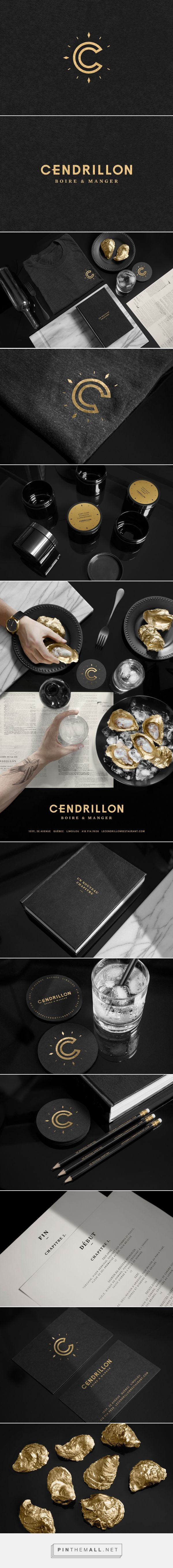 Cendrillon Restaurant and Bar Branding by Jeremy Hall | Fivestar Branding Agency – Design and Branding Agency & Curated Inspiration Gallery