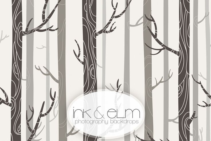 """Vinyl Backdrop 4ft x 3ft, Photography Backdrop Modern Trees Background, Forest Woods Trees backdrop, Photo Booth Prop, """"In the Woods """" by InkAndElm on Etsy https://www.etsy.com/listing/202844768/vinyl-backdrop-4ft-x-3ft-photography"""