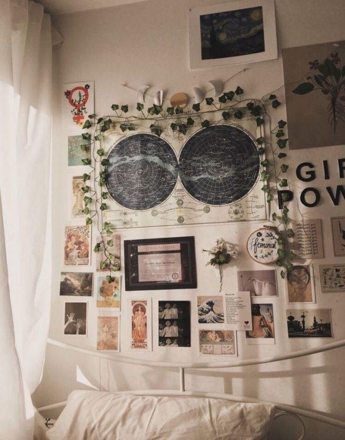 Aesthetic Bedroom Grunge Aesthetic Bedroom In 2020 Aesthetic Room Decor Vintage Room Bedroom Vintage
