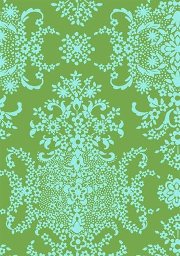 Stitch - Make something beautiful today. Green, Turquoise, Amy Butler