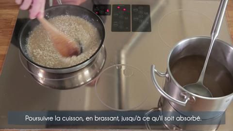 Comment faire un #risotto #video