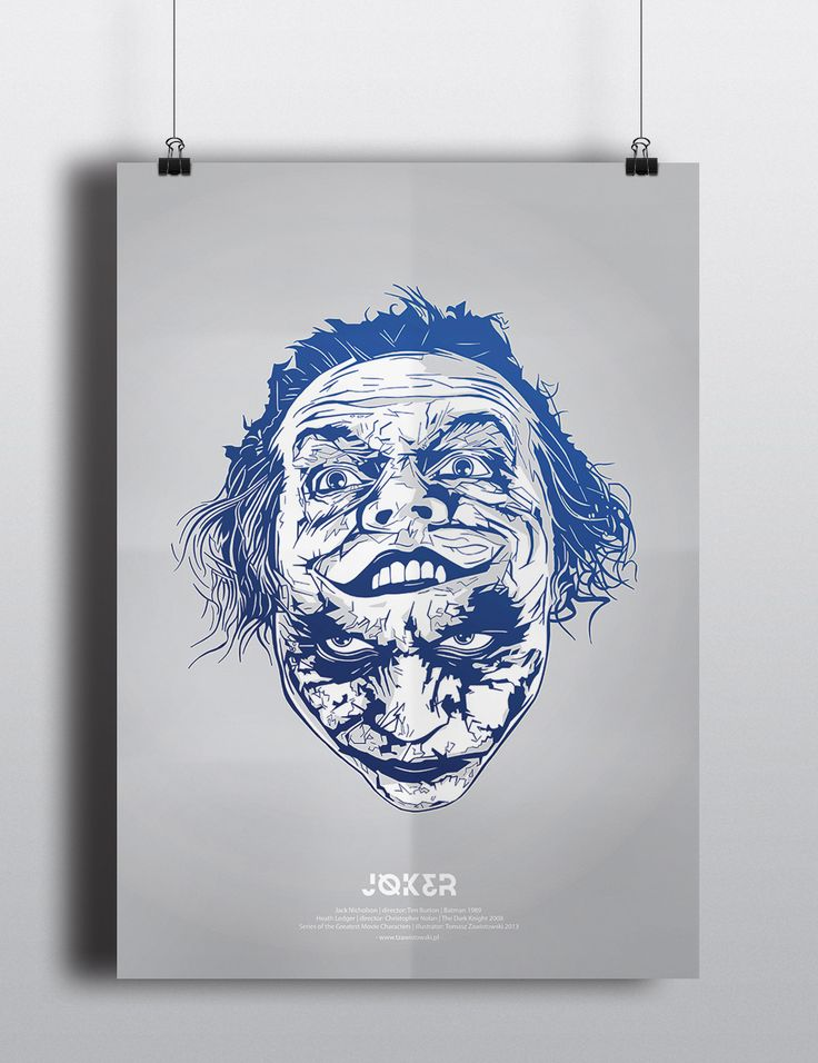 'Jocker' by Tomasz Zawistowski on wall-being