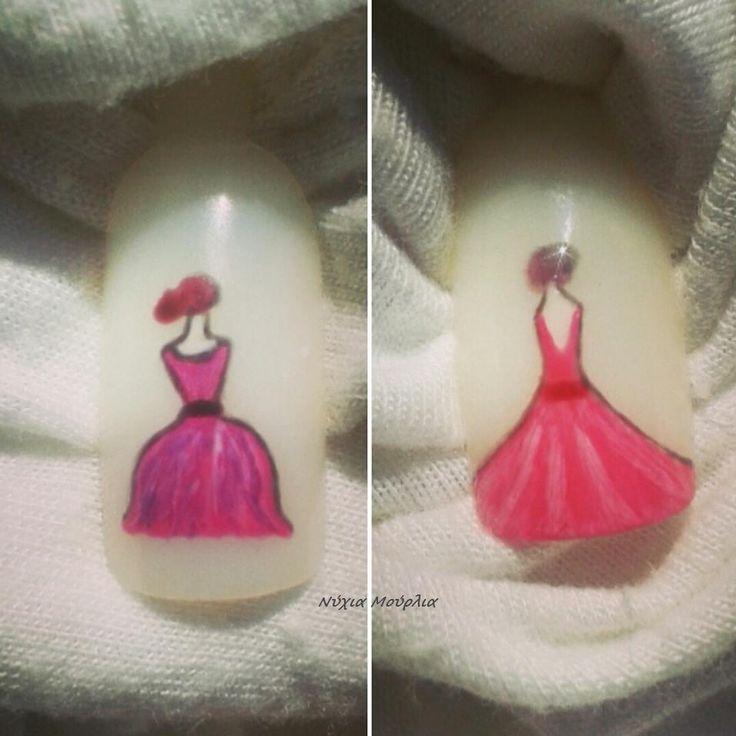 Nailart~handmade nailart~Ladies