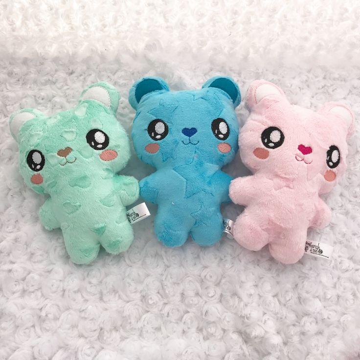 handmade plush bear softies
