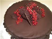Mine Oppskrifter: Fransk Sjokoladekake