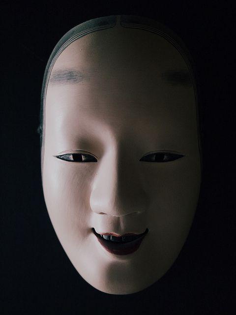 Noh Mask, Jan 1, 2012 in Tokyo