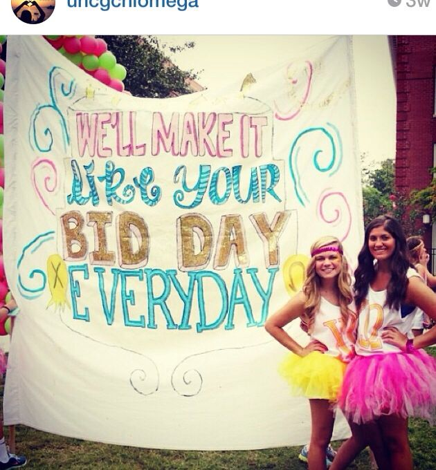 bid day birthday Katy perry theme #katyperry #bidday #sorority