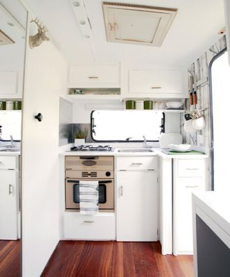 Big change from those hideous browns in the majority of rv's !