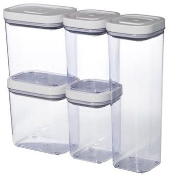 kitchen storage containers 8 best stackable food jars for the cupboard images on 3140