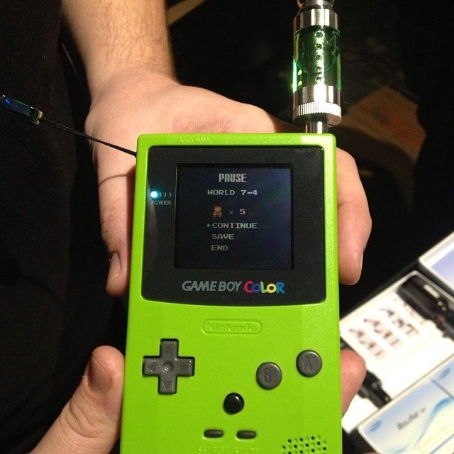 Awesome Gameboy Color Vape