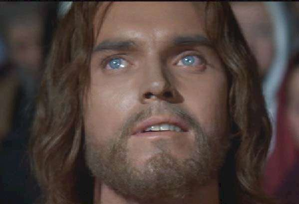 jeffrey hunter as jesus in king of kingsone of my