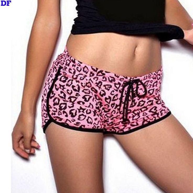 Buy from china:Rose Leopard Sexy Swim Shorts Women Plus Size Summer Style Board Shorts Sexy Beach Short De Bain Femme Swimming Shorts For Women