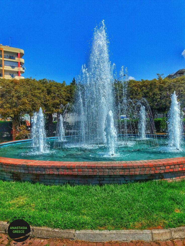 Park. Thessaloniki Greece.