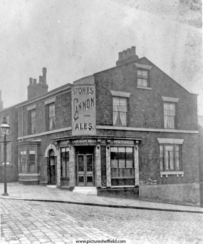 Buckenham Hotel (later Buckenham Arms), No 62 Grimesthorpe Road and junction with Buckenham Road