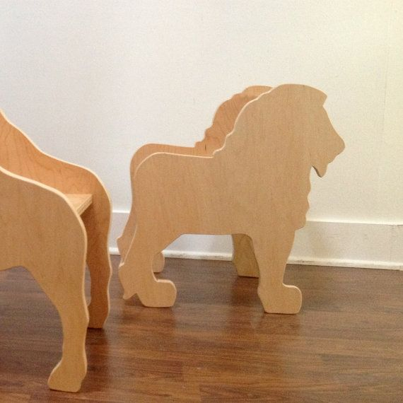 Lion Chair from The Child's Menagerie Furniture by palomasnest