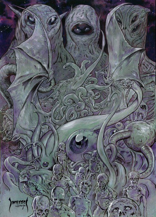 17 Best images about Lovecraft Cult on Pinterest | Yog ...