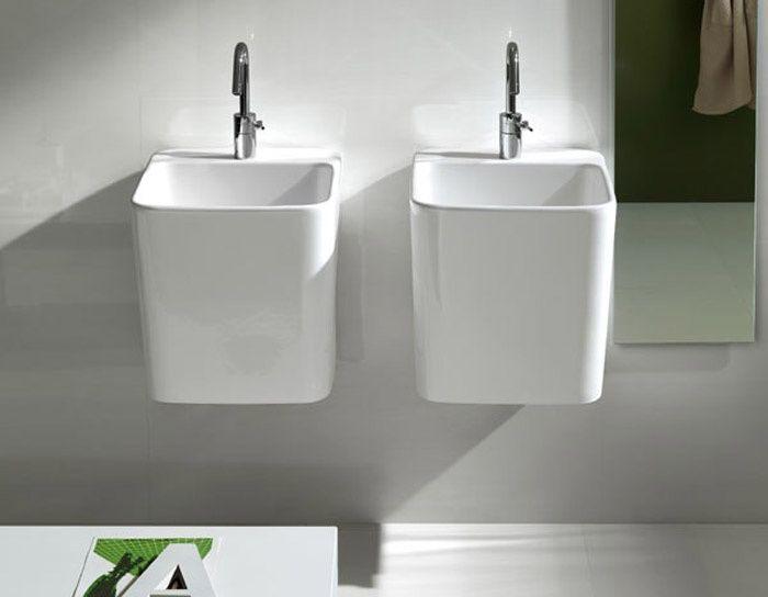 Oltre 25 fantastiche idee su mobili da bagno sospesi che - Lavandini da incasso bagno ...