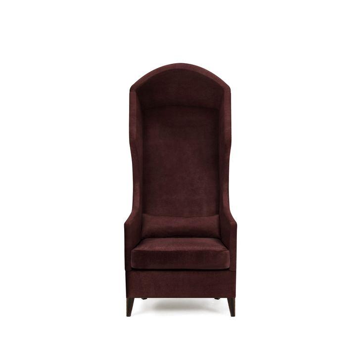 JOURNEY Armchair   Modern Chairs   Velvet Chair   Chair Design   #modernchairs   #livingroomchairs   #armchairs   Find more at: http://brabbu.com/category/upholstery