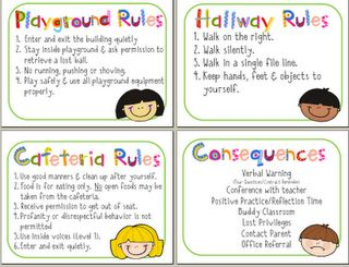 The Diary of a Teachaholic: Rules, Rewards and Consequences Chart and RON CLARK!!