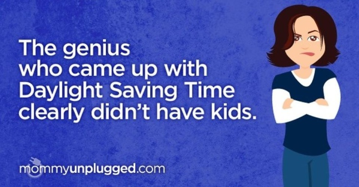 or teaching them for that matter! The monday after daylight savings time is always a rough day!