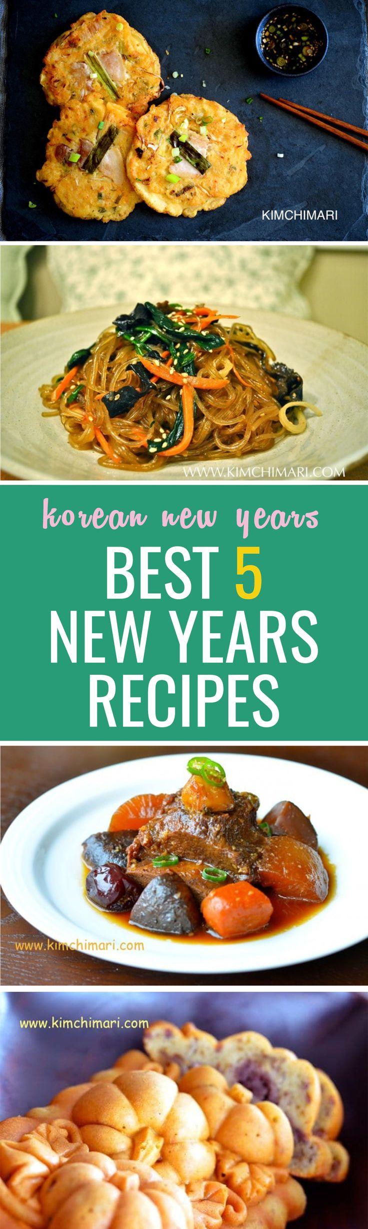 54 best korean party food images on pinterest korean recipes best 5 korean new year recipes rice cake soup jeons japchae kalbijjim and geotjori make a fabulous korean new year party menu forumfinder Gallery