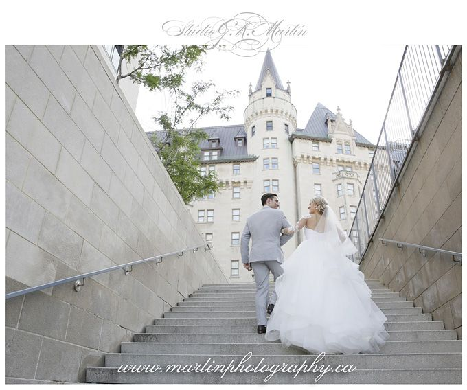 Ottawa Wedding Photographers Ottawa Fairmont Chateau Laurier Wedding - Hayley Paige Gown