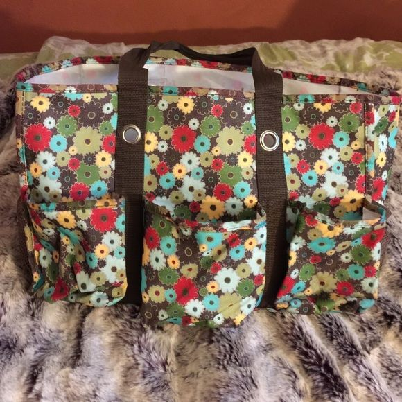 Thirty one utility tote Used as gym bag.. Thirty one Bags Totes