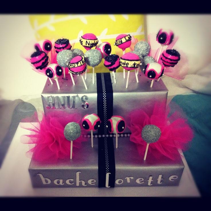 Bachelorette Cake Pops