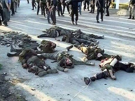 Убитые чеченцы в Грозном